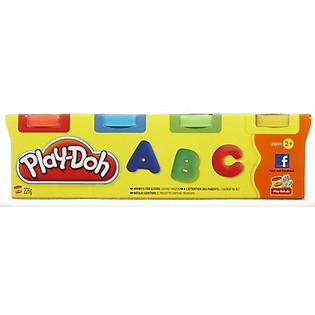 Bột Nặn 4 Màu Mini Playdoh - 23241
