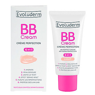 Kem Nền Evoluderm Light Bb Perfect Cream 6 In 1 - 13233 (50Ml)