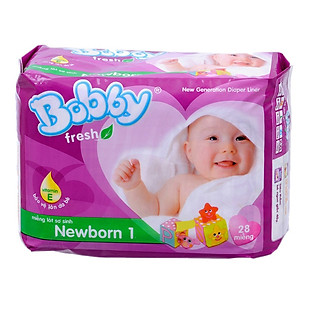 Miếng Lót Bobby Fresh Newborn 1 (28 Miếng)