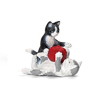 Mèo Con Chơi Với Cuộn Len Schleich - 13724