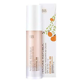 Kem Nền Trang Điểm Nature Republic Botanical Mandarin Essential BB Cream SPF 35 Pa++23 Natural Skin (30Ml)
