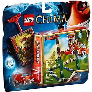 Mô Hình LEGO Chima Vượt Đầm Lầy (95 Mảnh Ghép) - 70111