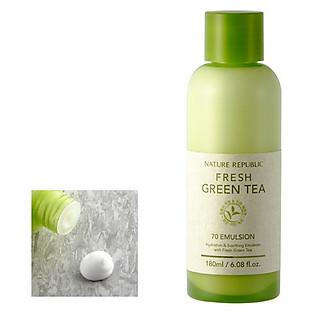 Nước Hoa Hồng Trà Xanh Nature Republic Fresh Green Tea 70 Toner (180Ml)