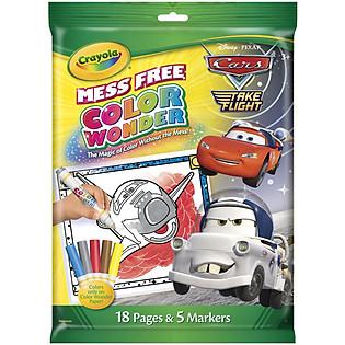 Bộ Bút Giấy Tô Màu Crayola Color Wonder Hình Xe Hơi - 752134A011