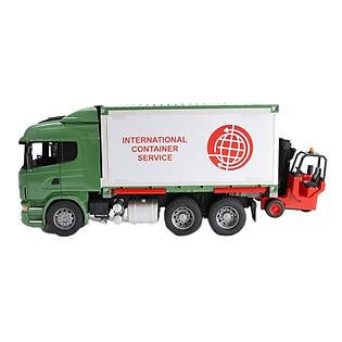 Mô Hình Bruder Xe Container Và Xe Nâng - BRU03580