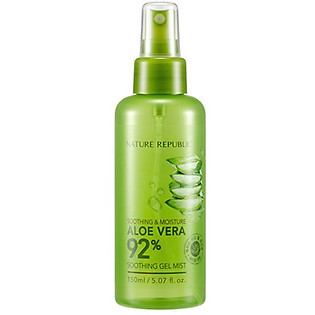 Xịt Khoáng Lô Hội Nature Republic Soothing & Moisture Aloe Vera 92% Soothing Gel Mist (150Ml)