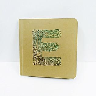 Notebook Bìa Mềm Giấy Kraft - TK5 E