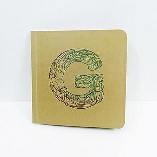 Notebook Bìa Mềm Giấy Kraft - TK7 G