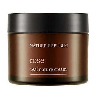 Kem Dưỡng Da Chiết Xuất Hoa Hồng Nature Republic Real Nature Rose Cream (50Ml)