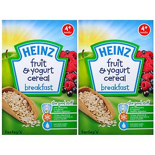 Combo 2 Hộp Ngũ Cốc Sữa Chua Trái Cây Heinz (125G)