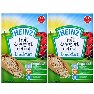 Combo 2 Hộp Ngũ Cốc Yến Mạch Và Táo Heinz (125G)