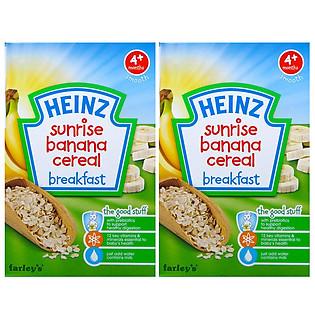 Combo 2 Hộp Ngũ Cốc Chuối Heinz (125G)