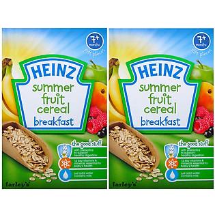 Combo 2 Hộp Ngũ Cốc Trái Cây Mùa Hè Heinz (120G)