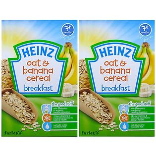 Combo 2 Hộp Ngũ Cốc Yến Mạch Và Chuối Heinz (120G)
