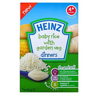 Gạo Và Rau Củ Xay Nhuyễn Heinz (125G)
