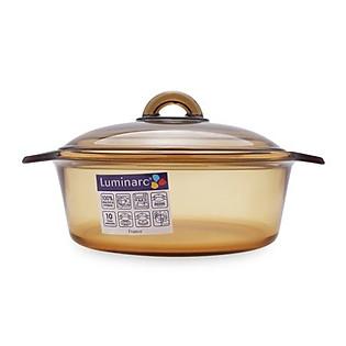Nồi Thủy Tinh Luminarc Vitro Blooming Amberline H6890 – 2 Lít