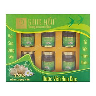 Nước Yến Hoa Cúc Song Yến Lốc 6X70ml