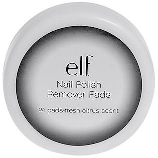 Bông Tẩy Móng E.L.F. Essential Nail Polish Remover Pads (24 Pads) - 26011