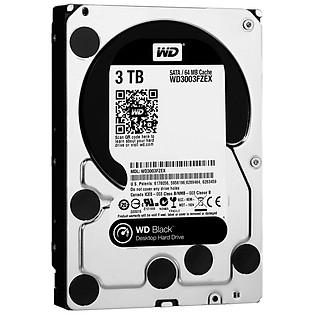 Ổ Cứng Trong PC WD 3TB (64MB) 7200Rpm 3.5″ Black™