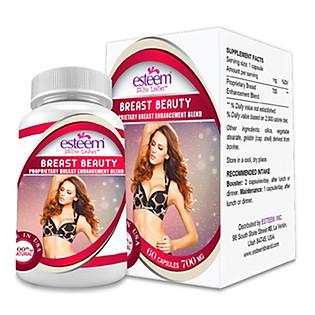 Thực Phẩm Chức Năng Viên Nở Ngực Esteem Esteem Breast Beauty ( Hộp 60 Viên )