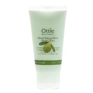 Kem Dưỡng Da Tay Cao Cấp Hương Thiên Nhiên Ottie Green Energy Olive Hand Cream - 1601 (80Ml)