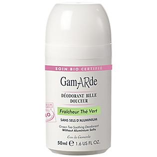 Lăn Khử Mùi Tinh Chất Trà Xanh Gamarde  (50Ml) - G630