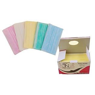 Khẩu Trang Y Tế Chuyên Dùng 5 Màu Thảo Ngọc TN22 (Hộp 50 Chiếc)