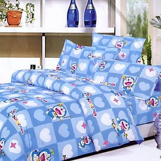 Bộ Ga Gối Cotton Hàn Quốc Julia 167BK16-1M6 X 2M
