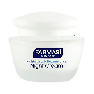 Kem Dưỡng Ban Đêm Cho Da Thường Và Da Hỗn Hợp Farmasi Night Cream For Normal Skin Farmasi 1804BAS04 (50Ml)
