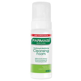 Sữa Rửa Mặt Tạo Bọt Dành Cho Da Dầu Purifying & Mattifying Cleansing Foam Farmasi 1813FOAM01 (150Ml)