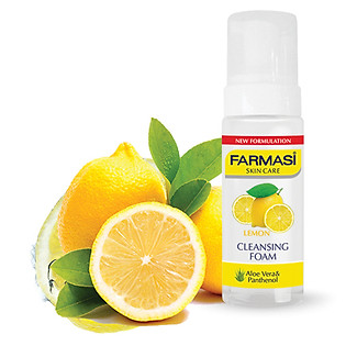 Sữa Rửa Mặt Tạo Bọt Chanh Và Vitamin E Cleansing Foam Lemon Farmasi 1813FOAM03 (150Ml)