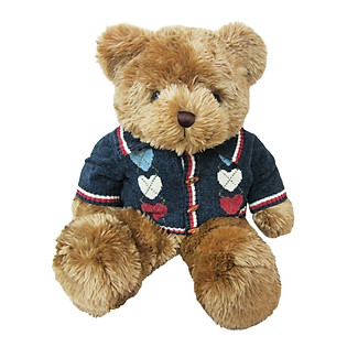 Gấu Rich Áo Len Đen - 18B0004