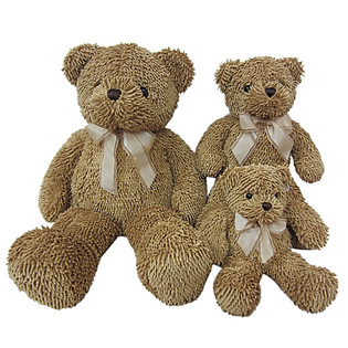 Gấu Rich Nâu Đeo Nơ (To) - 18B0176