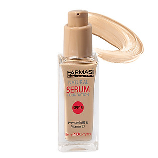 Serum Trang Điểm Natural Serum Foundation Farmasi 1908BAS (30Ml)