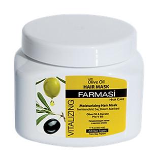 Mặt Nạ Dưỡng Tóc Vitalizing Hair Mask  With Olive Extract Farmasi 1916HAI01 (500Ml)