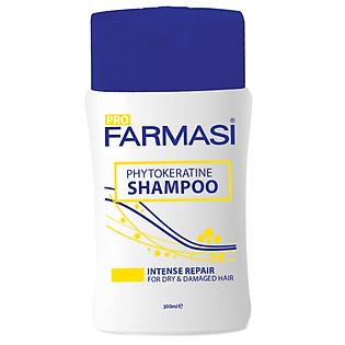 Dầu Gội Phục Hồi Tóc Hư Tổn Farmasi Keratin Balance Shampoo (300Ml) - 1925HAI