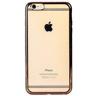 Ốp Lưng Iphone 6 Plus/6S Plus Meephong Viền Đính Hột