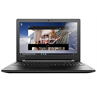 Laptop Lenovo Ideapad 300 80Q7000KVN Đen