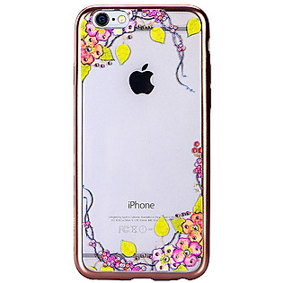 Ốp Lưng Cube Iphone 6/6S Swarovski Blossom - Grape Garden