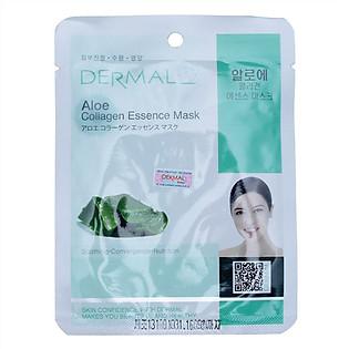 Mặt Nạ Dermal Tinh Chất Collagen Với Chiết Xuất Lô Hội