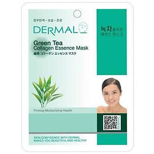 Mặt Nạ Dermal Tinh Chất Collagen Với Chiết Xuất Trà Xanh