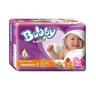 Miếng Lót Bobby Fresh Newborn 2 (40 Miếng)