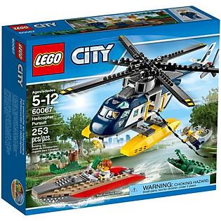 Mô Hình LEGO City - Trực Thăng Truy Đuổi 60067