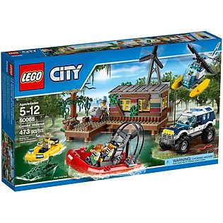 Mô Hình LEGO City - Hang Ổ Tội Phạm 60068
