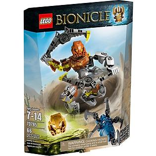 Mô Hình LEGO Bionicle - Thần Đá Pohatu 70785
