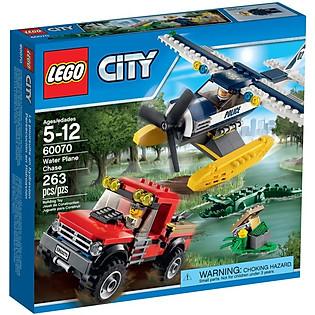 Mô Hình LEGO City - Rượt Đuổi Đầm Lầy 60070