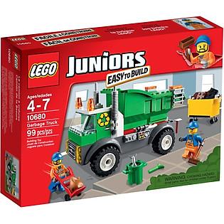 Mô Hình LEGO Juniors - Xe Rác 10680