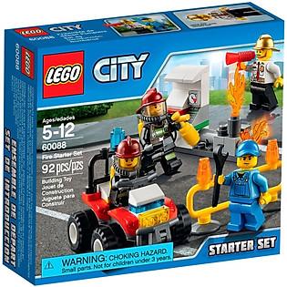Mô Hình LEGO City - Khởi Đầu Tàu Hỏa 60088
