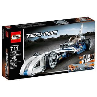 Mô Hình LEGO Technic - Kỷ Lục Tốc Độ 42033