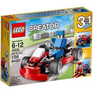 Mô Hình LEGO Creator - Xe Đua Mini 31030 (Đỏ)